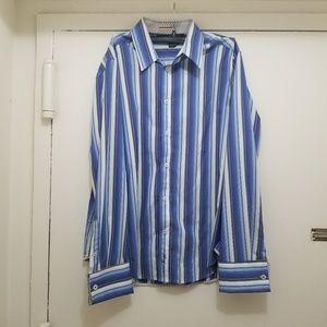 Mens DKNY JEANS Long Sleeve Shirt Size L